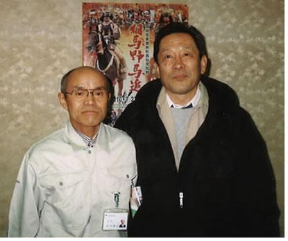 南相馬市の桜井勝延市長と服部議員