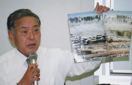 菅野哲雄・宮城県連合代表からヒアリング