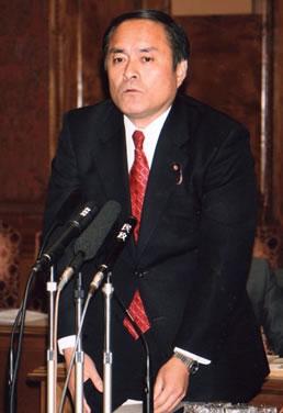 「水産特区」で吉田忠智参院議員