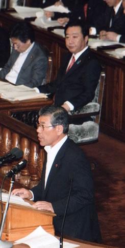 衆院本会議で中島隆利議員
