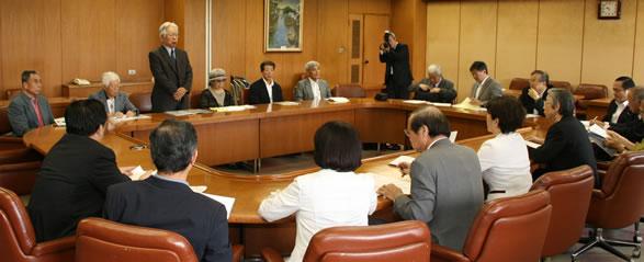 長崎訴訟原告団が党に支援を要請
